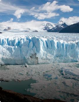 Glaciares de invierno
